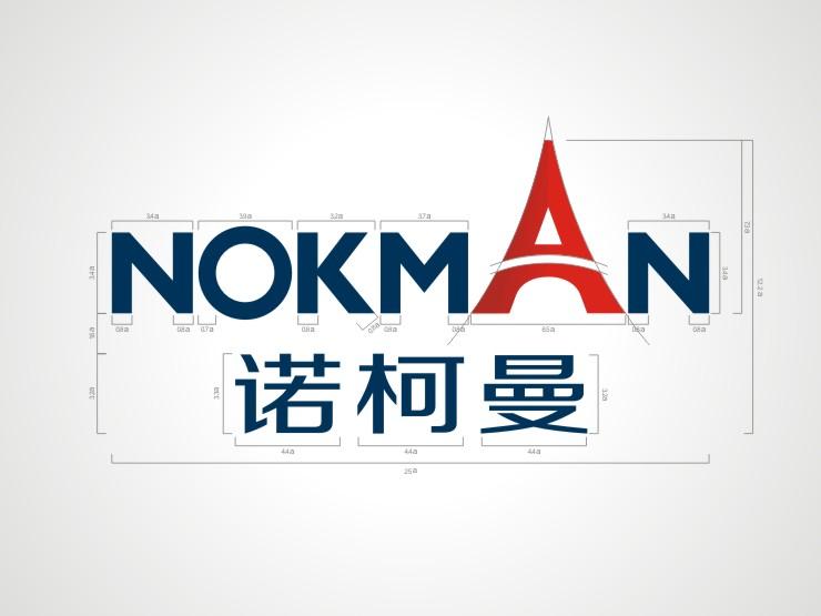 品牌策略:   经过分析和讨论诺柯曼品牌设计方向时,诺柯曼品牌